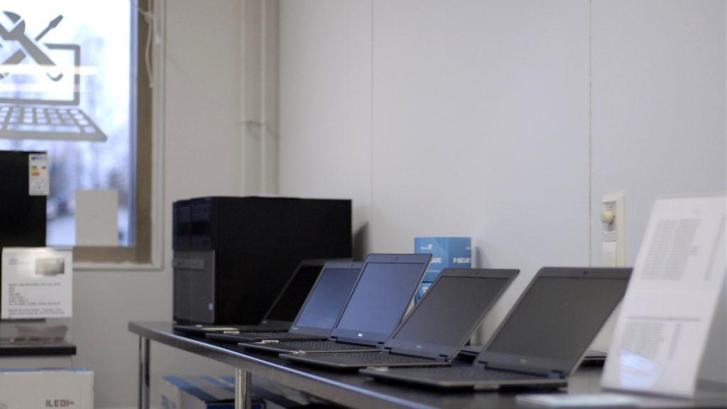 Käytetyt kannettavat - Kuhmon Tietokonehuolto